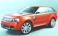 Range Rover Stormer Concept Car