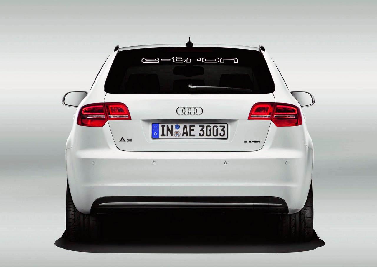2011 Audi A3 e-tron back