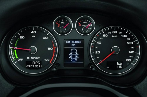 Audi A3 e-tron 2011 Interior