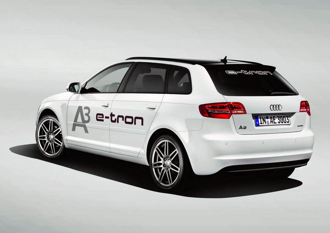 Audi A3 Concept Car e-tron 2011