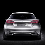 Mercedes A-Class Concept Car Back View