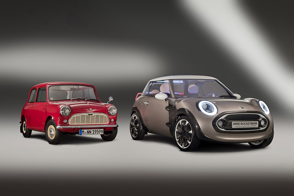 Mini car and MINI Rocketman