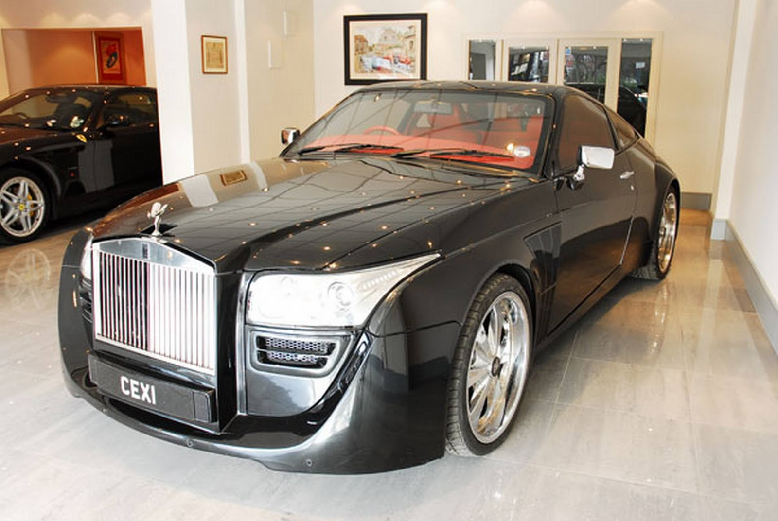 Modified Rolls Royce Phantom Concept