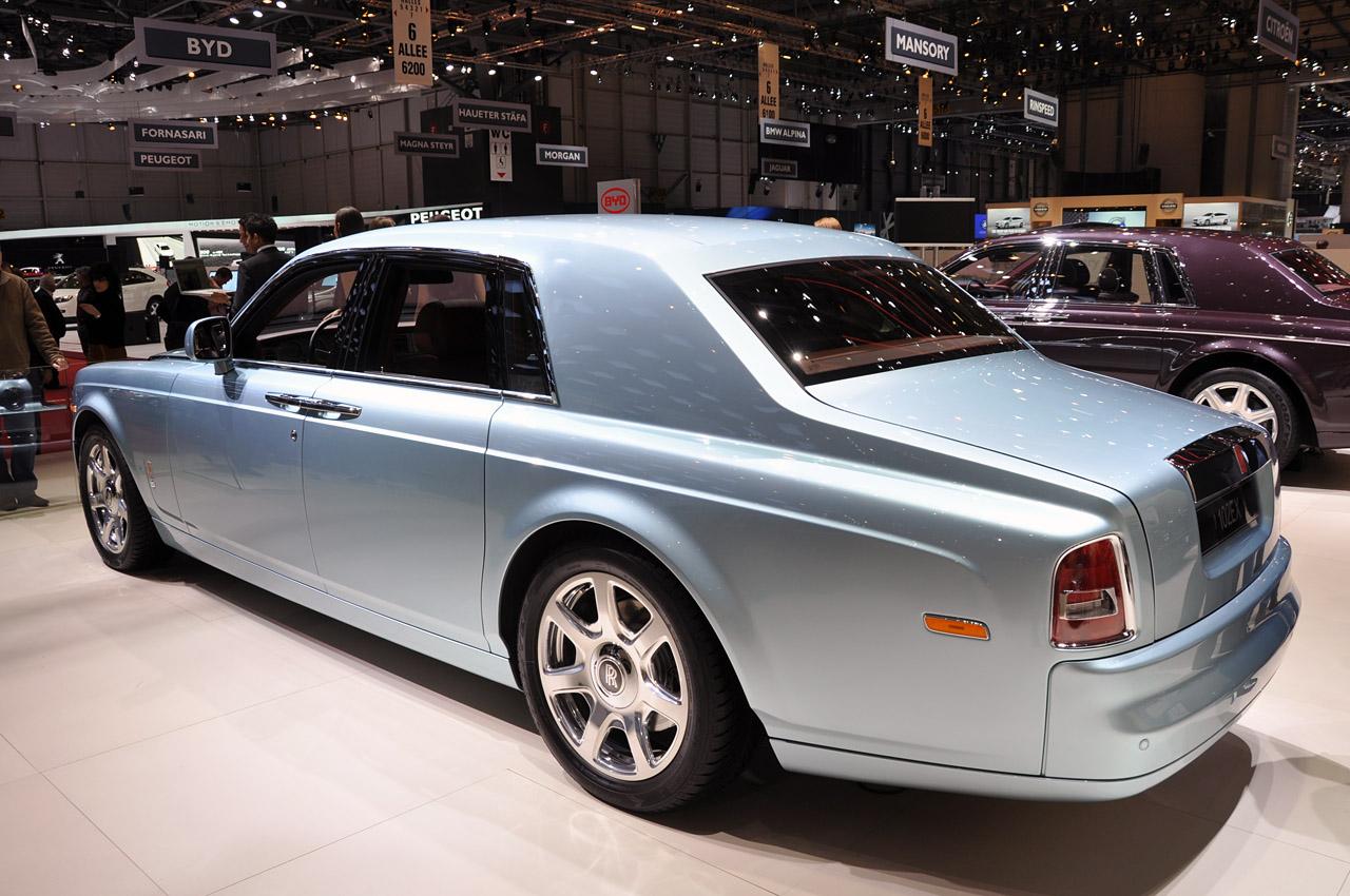 Rolls Royce 102EX Side View