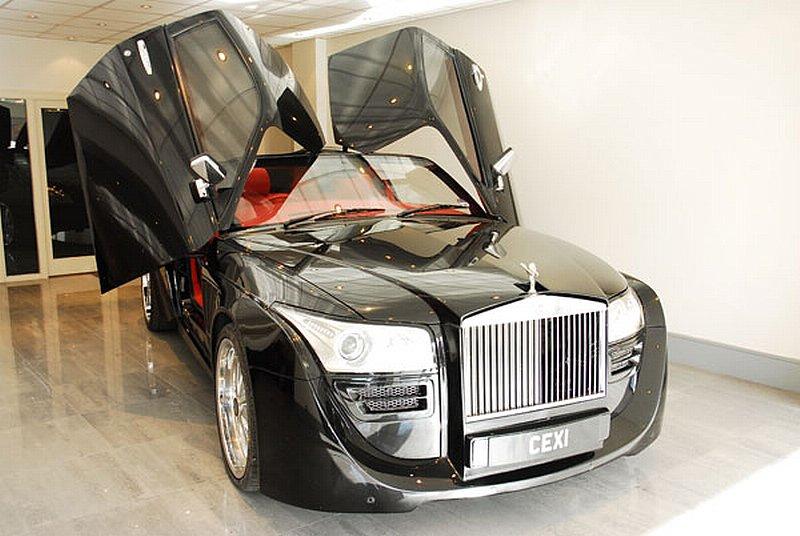 Rolls-Royce Cexi Lambo Doors