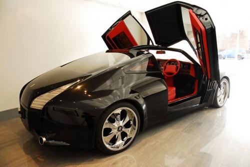 Rolls-Royce Phantom Lambo Doors Concept