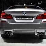 2012 BMW M5 Back