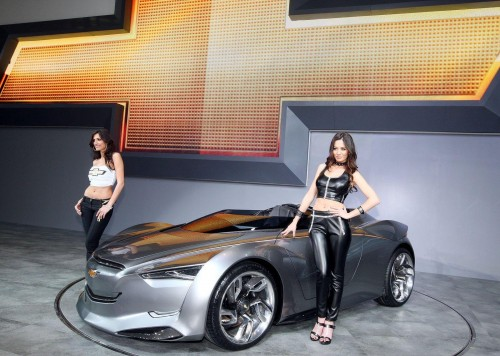 Chevy Concept Car Show Pictures