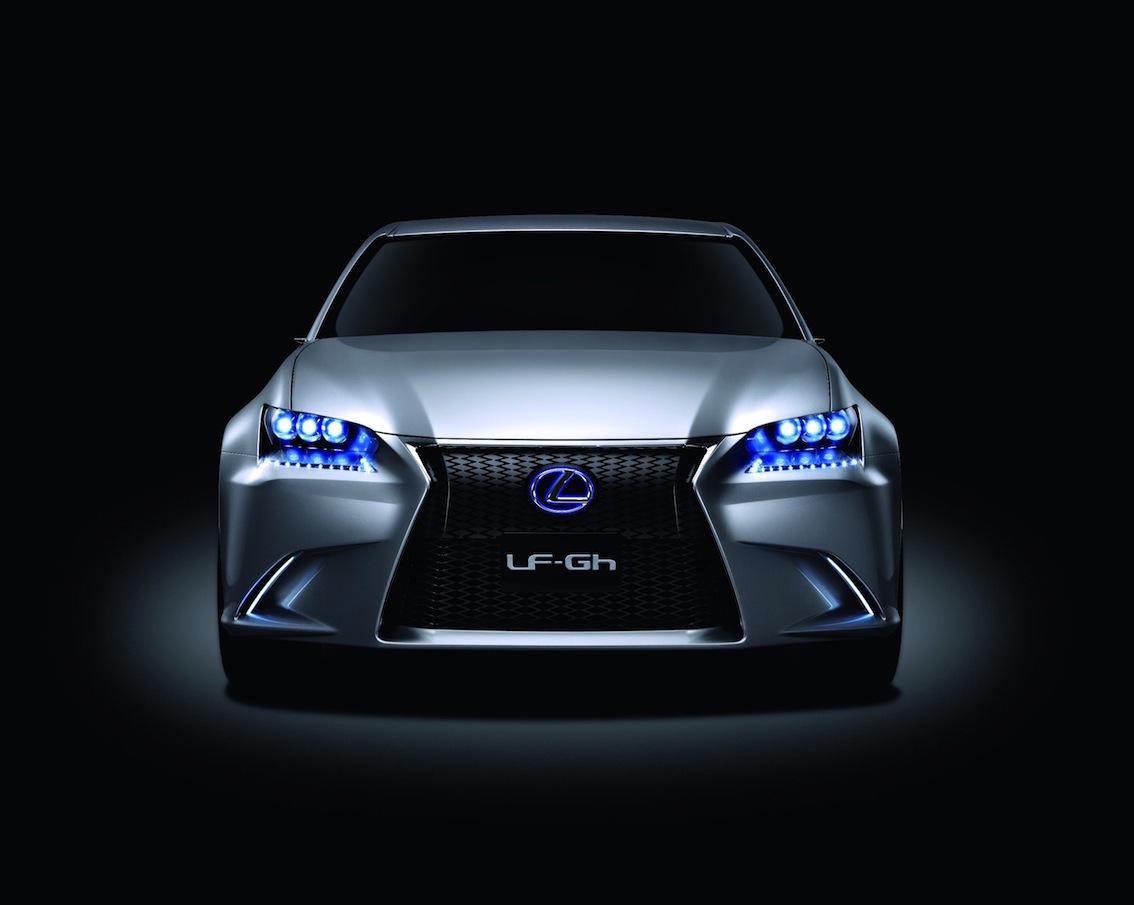 frontview 2011 Lexus LF-Gh concept