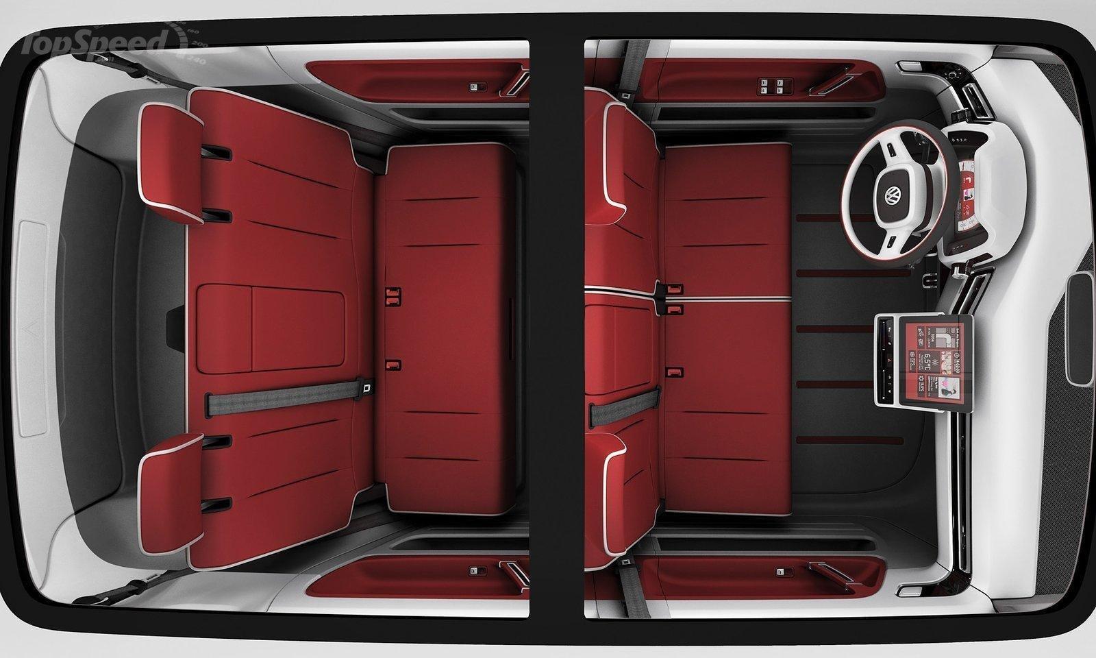 Volkswagen Bulli Van interior space